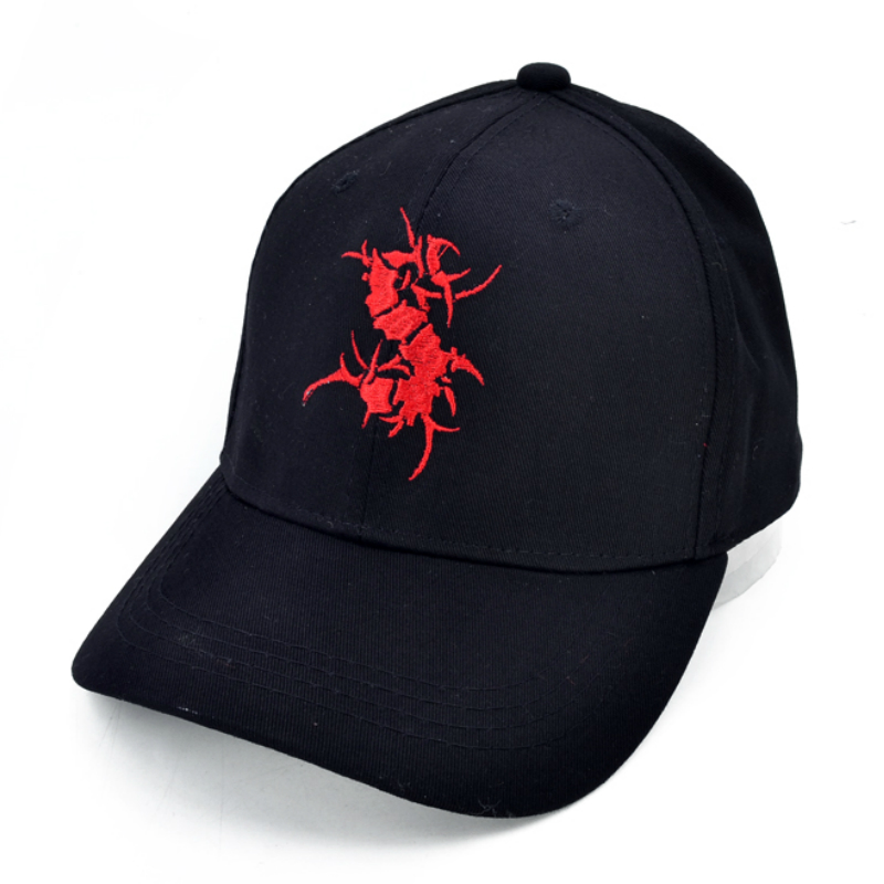 SEPULTURA Death metal band   Baseball     cap   Electronic dance music hat Sepultura logo Letter Embroidery hat bone