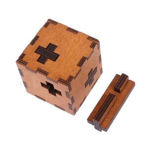 Image 5 - New Switzerland Cube Wooden Secret Puzzle Box Wood Toy Brain Teaser Toy For Kids brain test toys