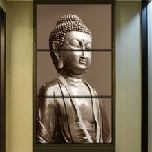 Modular Pictures Wall Art Home Decorative 3 Pieces Religious Buddha Painting Top-Rated Canvas HD Print Poster Decor Framework