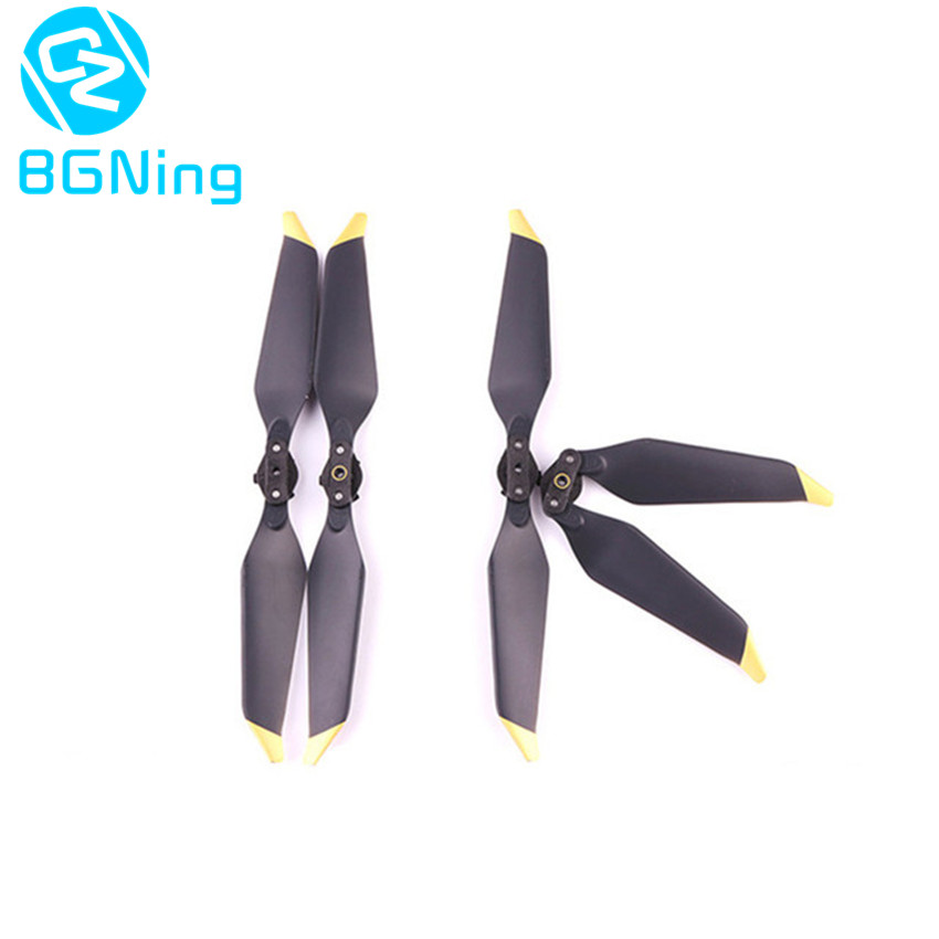 1pack of 2pairs Golden Silver Platinum 8331 Propellers Low Noise Quick Release Foldable Props For DJI