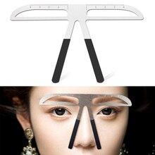 Tattoo Eyebrow Ruler 3d measuring ruler Balance Ruler Brow Template DIY Make Up Tools maquillaje profesional brow stenc