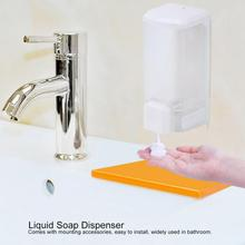 250ml Manual Liquid Soap Dispenser Wall Mounted Single Head Transparent Lotion Dispensador for Bathroom