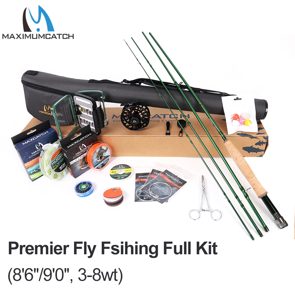 Maxcatch Premier Fly Fishing Rod and Reel Combo Complete Fishing OutfitMaxcatch Premier Fly Fishing Rod and Reel Combo Complete Fishing Outfit