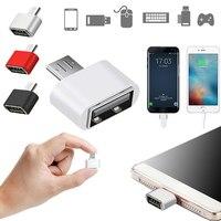 1pc 마이크로 USB OTG 어댑터 남성 USB 2.0 여성 커넥터 데이터 휴대용 OTG 변환기 삼성 안 드 로이드 휴대 전화 어댑터