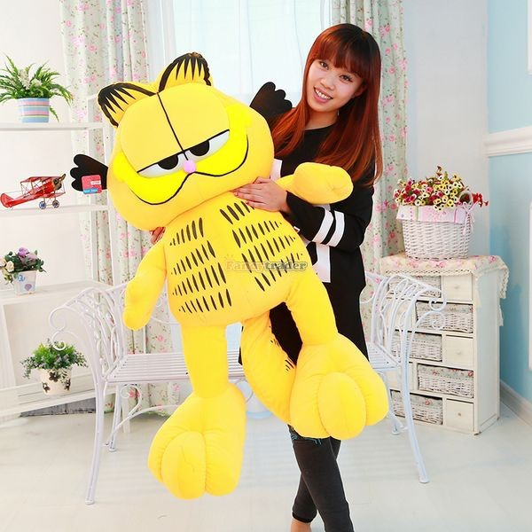 Fancytrader 49\'\' 125cm Super Funny Big Stuffed Soft Plush Lovely Giant Garfield Cat, Free Shipping FT50713 (2)