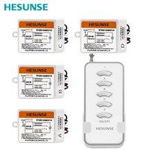 Interrupteur télécommande numérique sans fil, quatre canaux, Y F211B1N4/220V, stabilité de Signal, 110