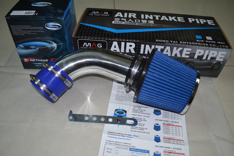 AIR INTAKE PIPE KIT+1 Air FILTER for 2008-2010 AUDI TT 2.0T, car AUTO Tuning, pls contact me for other car models red silicone induction air intake inlet hose pipe for audi tt s3 seta leon 1 8t bam apx 210 225hp