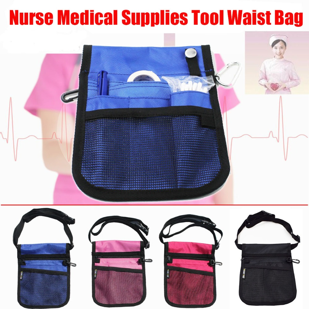 Fanny Pack Nursing Belt Organizer For Nurse Waist Bag Shoulder Heuptas Medical Tool Pouch Women Heuptasje Bolsa Cintura Homecare