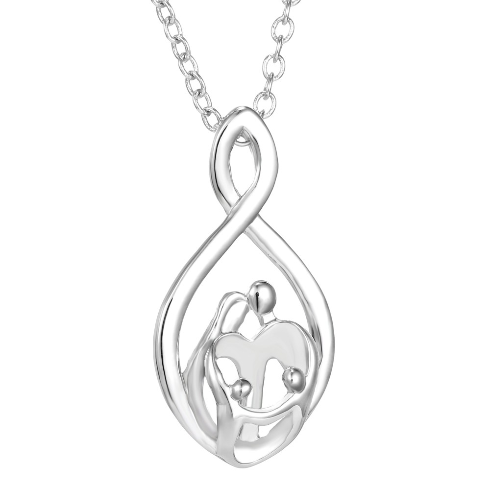 Family Infinity Pendant Necklace