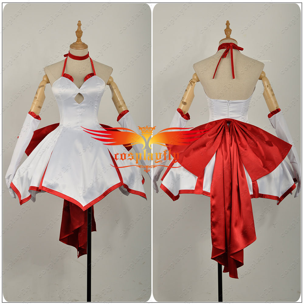 US $68 99  Aliexpress com : Buy Fate/Stay Night Fate/Zero Fate/Grand Order  Nero Saber Lily Red Lily Girls Dress Skirt Outfit Uniform Clothing Cosplay