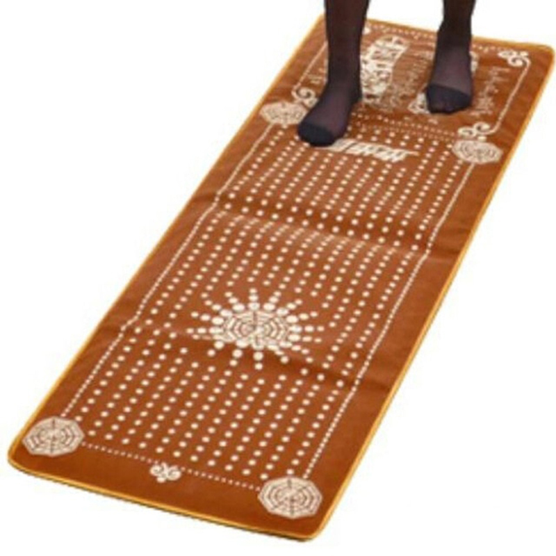 Tourmaline Foot Massage Blanket Blood Circulation Walking Carpet Cushion Foot Health Care Acupuncture Acupoint Massage Mat