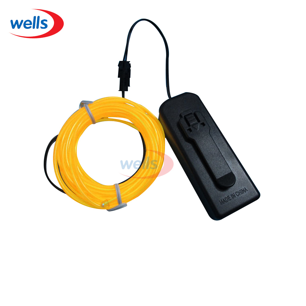 3M Flexible Neon light EL Light wire Rope Tube 10 colors select for ...