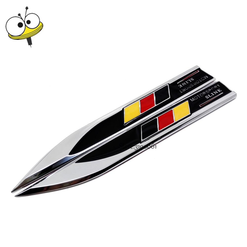 For Germany Flag Logo Car Sticker Emblem Badge Decal Auto Car Styling For Benz C200 C300 Audi Q3 A4 RS4 VW Golf Polo BMW Passat