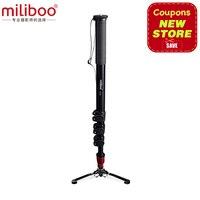 Miliboo MTT705A (без головки) портативный алюминиевый монопод для профессиональной видеокамеры/видео/камеры/штатива DSLR