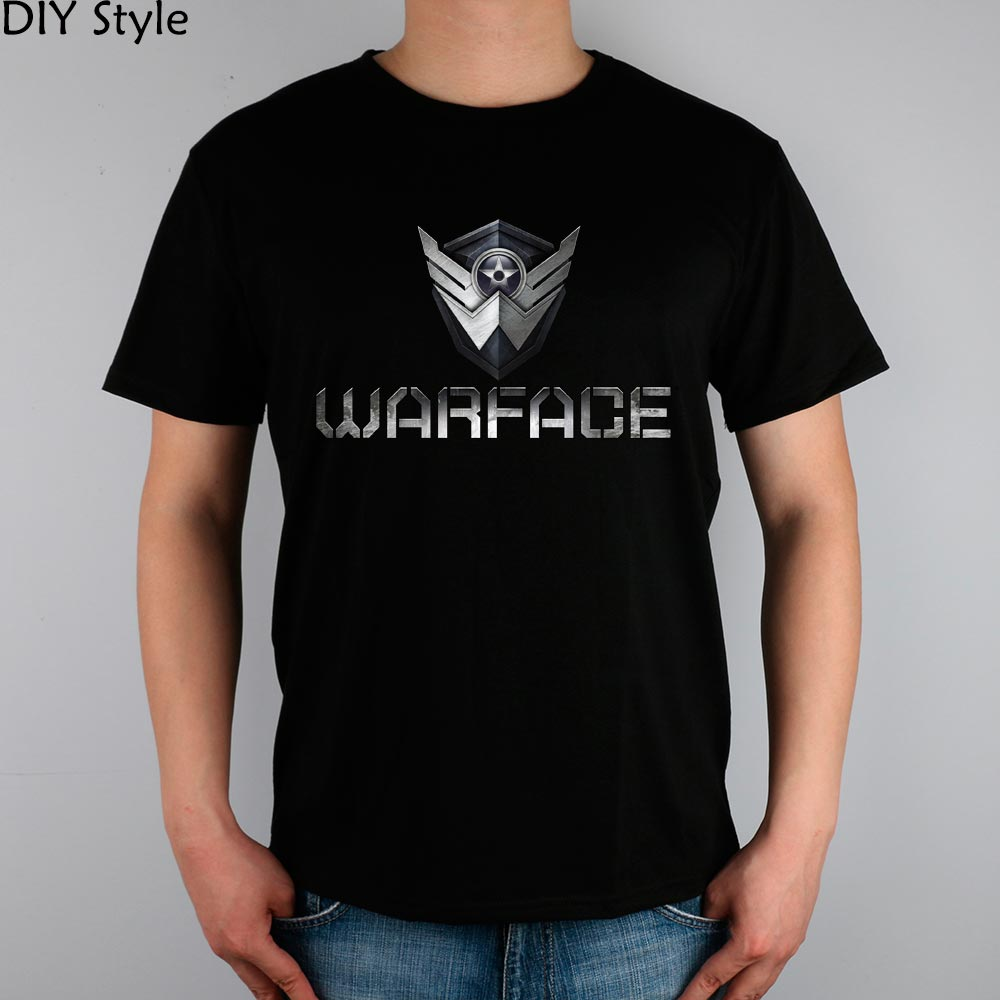 SPEL R BattleFronts WARFACE T-shirt bomull Lycra topp 11030 Fashion Brand t-shirt män nya DIY Style hög kvalitet