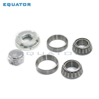 motorcycle parts Steering Column taper ball bearing kit on handle bar shock absorber Fixed plate connection lining board shelf