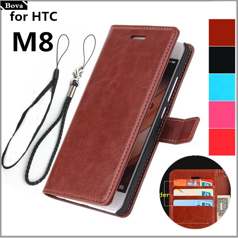 card holder cover case for HTC One M8 leather phone case for HTC M8 ultra thin wallet flip cover phone bags