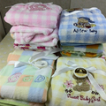Baby Blanket Children Coral Blanket Boy Girl Cartoon Comforter High Quality Embroidered Style