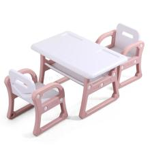 Детский Набор стульев на стол для детского сада, обучение в письменной форме, пластиковые игрушки на стол и стулья