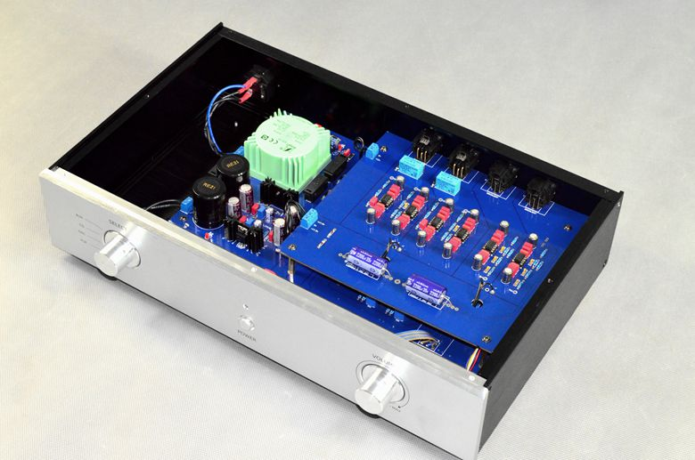 B601 fever HIFI preamplifier finished machine 15W DIY preamp amplifier 115V/230V input Voltage name machine b 108 circuit no big loop negative feedback pure post amplifier hifi fever grade high power 12 tubes