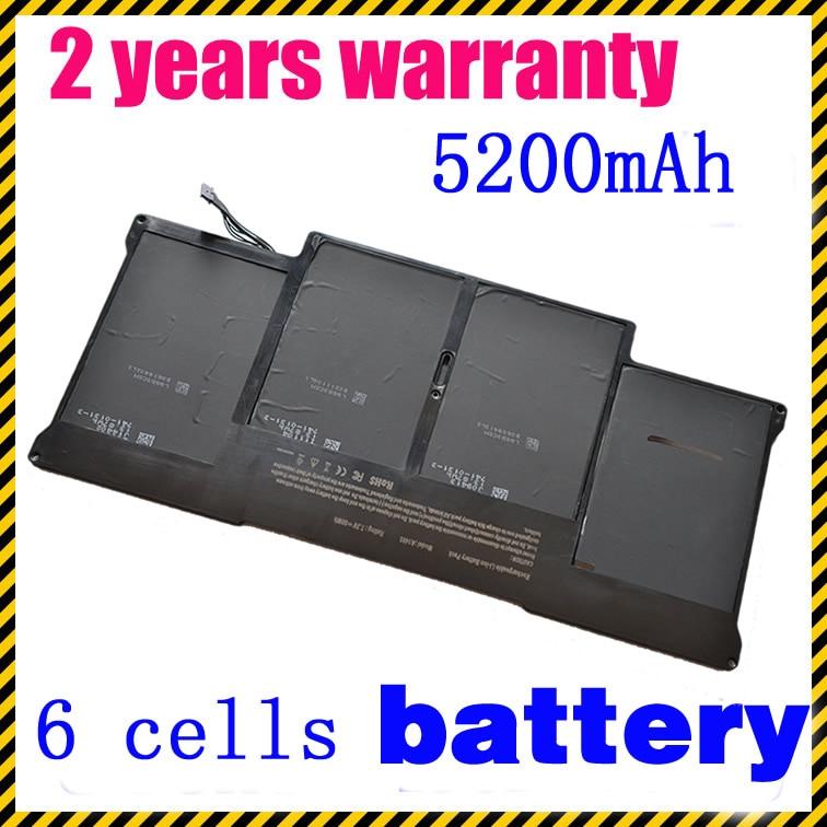 JIGU A1369 A1405 A1377 Laptop battery For Apple MacBook Air MacBook Air 13 MC504 13 MC503