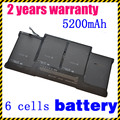 "JIGU A1369 A1405 A1377 Laptop battery For Apple MacBook Air MacBook Air 13"" MC504 13"" MC503"