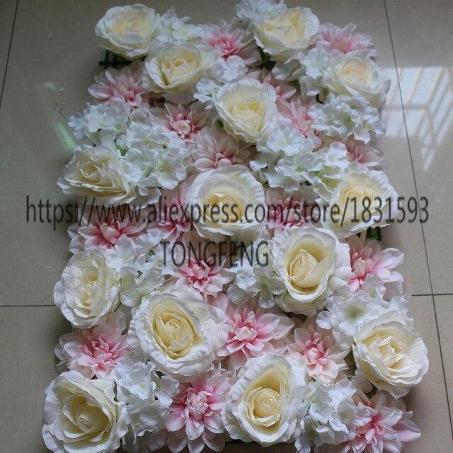 10 Teile Los Hochzeit Blumen Hochzeitsdekoration Rosen Wand Hochzeit