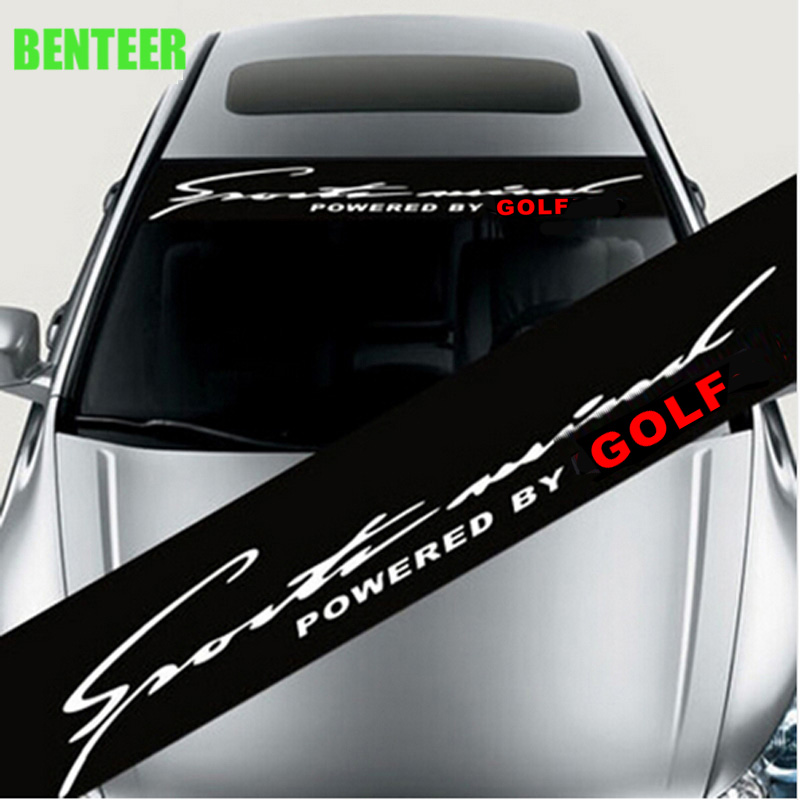 car windscreen windshield <font><b>sticker</b></font> For Volkswagen <font><b>golf</b></font> MK1 MK2 <font><b>MK3</b></font> MK4 MK5 MK6 MK7 golf6 golf7 image