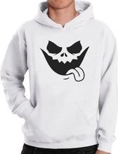 Evil Jack O Lantern Scary Pumpkin Face Halloween Hoodie Funny Unique Sweatshirt Unisex Hoodie-Z123
