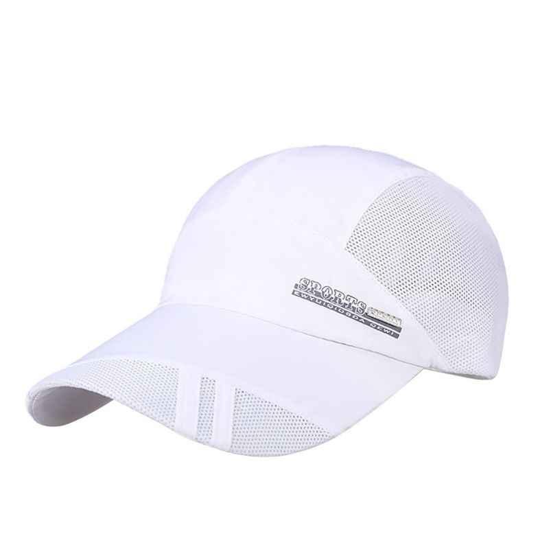 Lato w nowym stylu mody mężczyźni z daszkiem wyposażone czapki regulowany czapka sportowa czapka z daszkiem Gorras oddychające Casquette