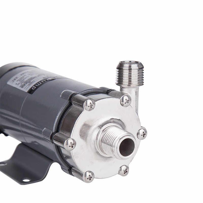 TTLIFE 304 المقاوم للصدأ رئيس مضخة مغناطيسية 15R الغذاء الصف ارتفاع درجة الحرارة مقاومة 120C البيرة مضخة بمحرك مغناطيسي المنزل المشروب 2019