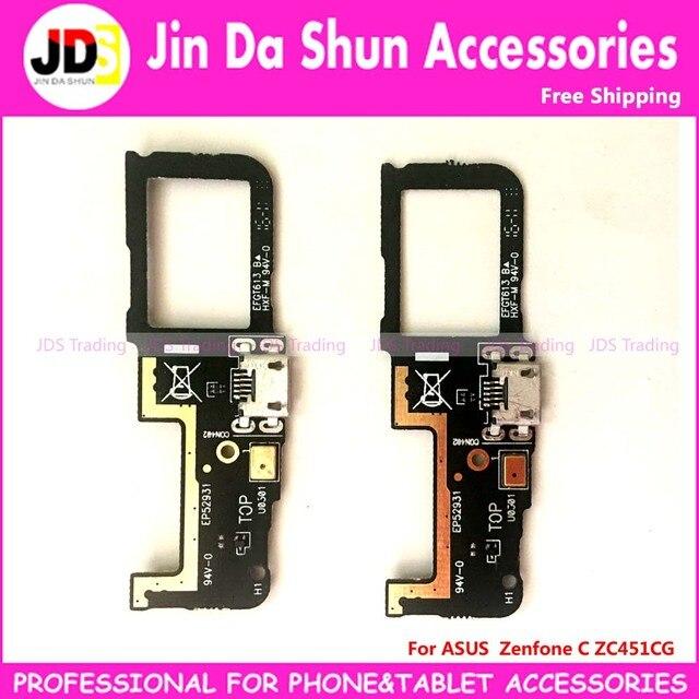 Pour ASUS Zenfone C ZC451CG USB Dock De Charge Port Plug Flex Cable Chargeur Connecteur