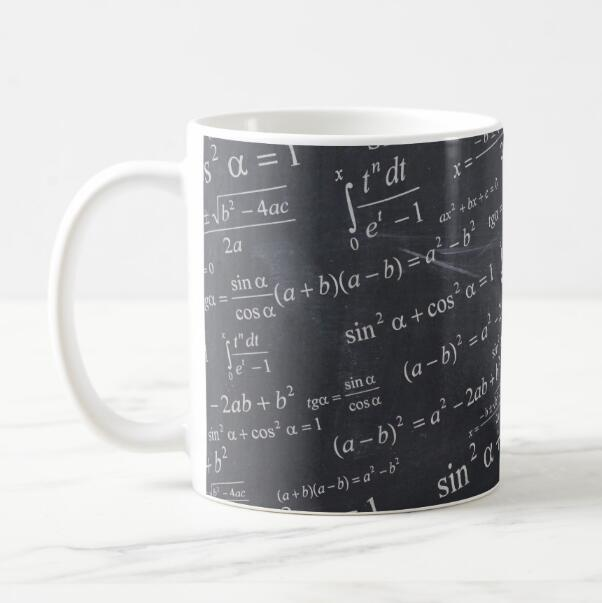 All You Need Is Math Equation School Teacher Research Funny Coffee Mug Tea Cup