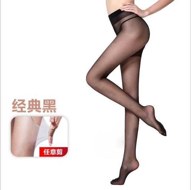 2D T crotch Thin invisible pantyhose Women's pantyhose,  sexy satin Stockings hose,Fitness Leggings  sexy lingerie 6007 4