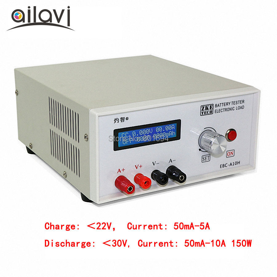 EBC-A10H Multifunction Electronic Load Tester 0-30V12V Battery Capacity Power Bank and DC Power Supply Test 10A 150W battery capacity testing electronic load nicd and nimh mobile power supply tester tec 06 lithium battery page 1