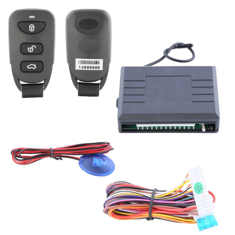 Universal Car Keyless Entry Kit Auto Remote Central Door Locking