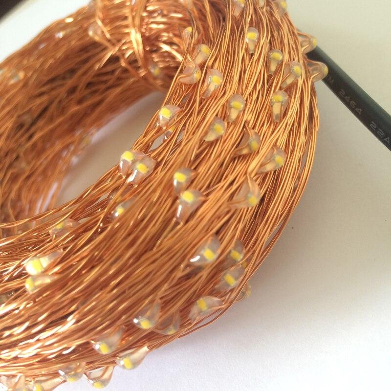 cobre luz cordas fada lampada para decoracoes 02