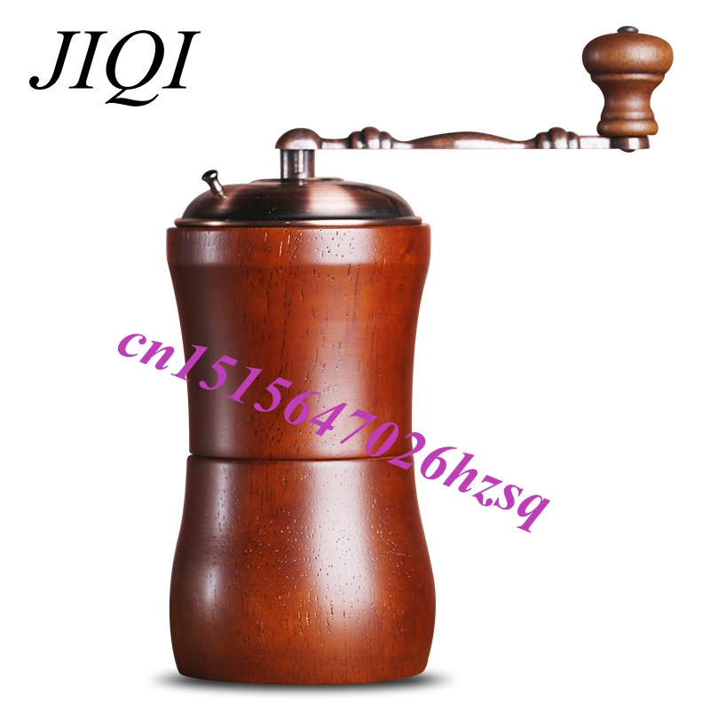 JIQI Manual Coffee Grinder bean grinding machine Coffee miller tool fujiwara pneumatic grinding machine set dry grinder sanding tool polishing machine tire grinding machine tire repair tool