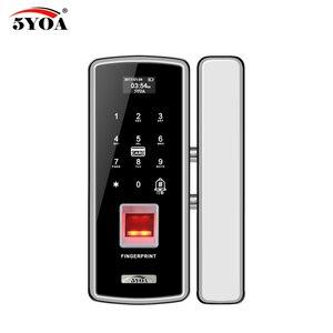 Image 4 - แก้วล็อคลายนิ้วมือดิจิตอลประตูล็อคอิเล็กทรอนิกส์สำหรับ Home Anti   theft รหัสผ่านอัจฉริยะ RFID Standalone เปิดสมาร์ท
