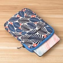 Fashion sleeve cover print bag for ipad 2 3 4 5 6 air 1 case Apple New iPad 9.7 2017 2018 Tablet Bag Mini