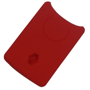 Image 2 - 4 כפתורי סיליקון גומי מפתח כיסוי מקרה מגן עבור רנו קליאו לוגן מגאן 2 3 Koleos סניק כרטיס Keychain רכב סטיילינג