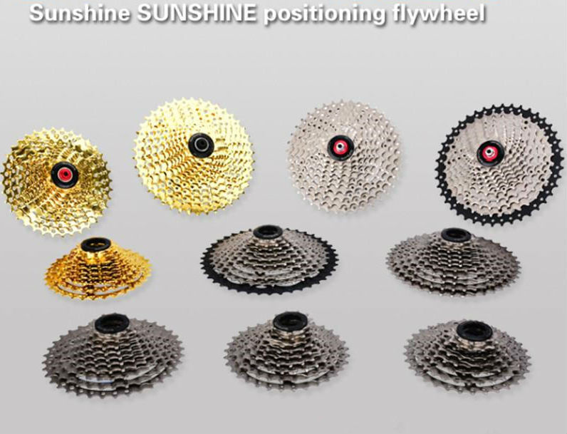 sunshine 8/9/10/<font><b>11</b></font>/12 Speed 32T/36T40T/42T46T/50T Bicycle Freewheel Wide Ratio bike Mountain Bicycle <font><b>Cassette</b></font> Tool MTB Flywheel image