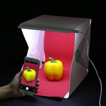 40cm Lightweight Folding Portable USB Switch LED Studio Light Room Photo Photography Tent Backdrop Mini Box