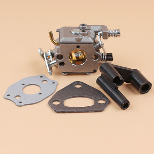 Комплект прокладок для карбюратора и глушителя HUSQVARNA 137 142 136 141 36 41 Walbro Carb, детали для бензопилы с карбюратором и карбюратором для бензопилы