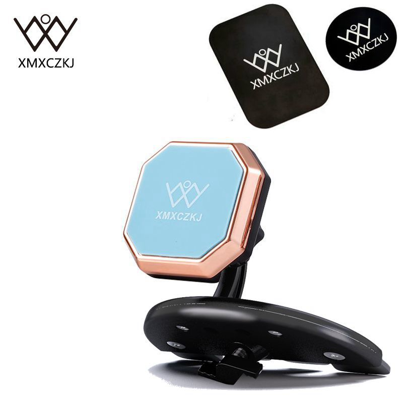 XMXCZKJ Magnetic Cell Mobile Holder CD Slot Car Mount Phone Holder Magnet Smartphone Holder Support Stand For iPhone X 8 Xiaomi|car phone holder|car mount holder|phone holder - title=