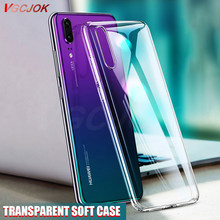 Clear Silicone Soft Case For Huawei Y9 Y7 Y6 Y5 Prime 2018 P Smart 2019 Transparent TPU Case For Huawei P8 P9 P10 P20 Lite Pro(China)