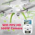6-осевой RC Обновления Вертолет Toys X5HW-1 Тарантул FPV 2.4 ГГц Давления высокая RC Мультикоптер Drone с WI-FI 500 Вт Камеры HD Мальчик игрушка