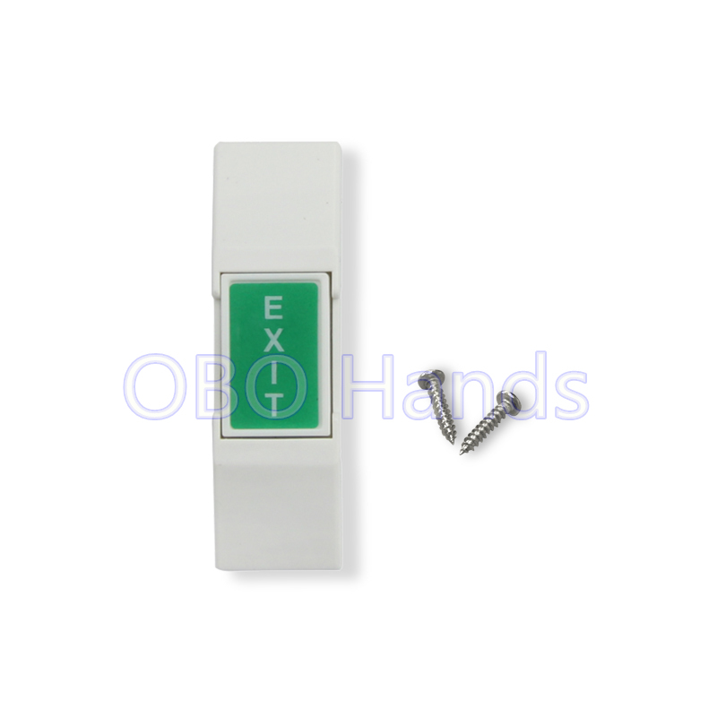 Free shipping high quality plastic door release switch emergency exit button push to open the door for access control system-SC2