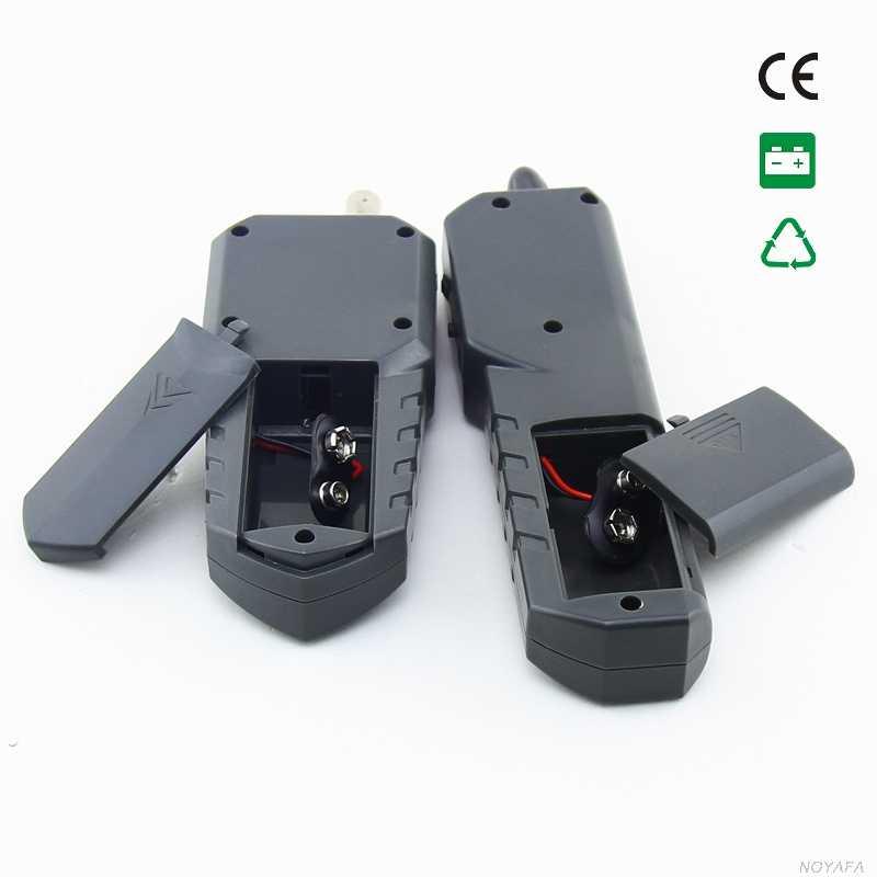 NOYAFA NF-268 Cable rastreador de red Cable de teléfono rastreador de alambre tóner probador con Anti-interferencia NF_268
