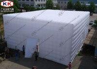 Gonfiabile sala da concerto realizzato con blow up tenda d'aria cubic